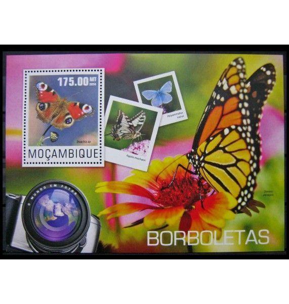 "Мозамбик 2014 г. ""Бабочки"""
