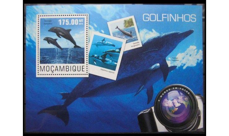 """Мозамбик 2014 г. """"Дельфины"""""""