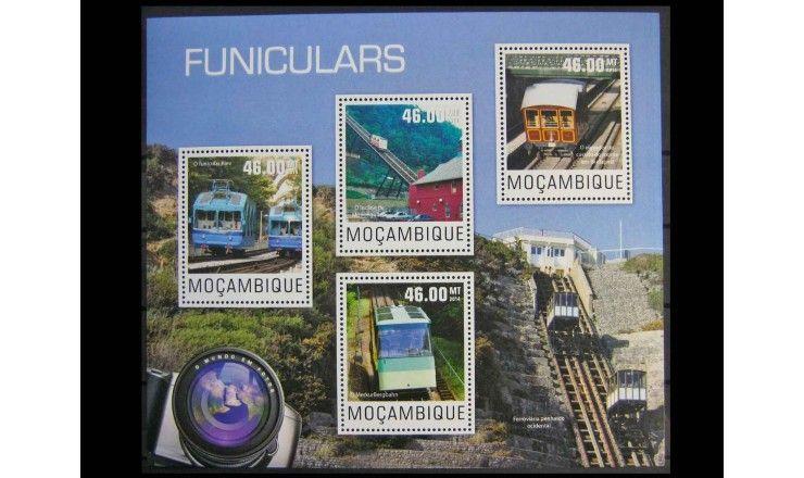 "Мозамбик 2014 г. ""Фуникулеры"""