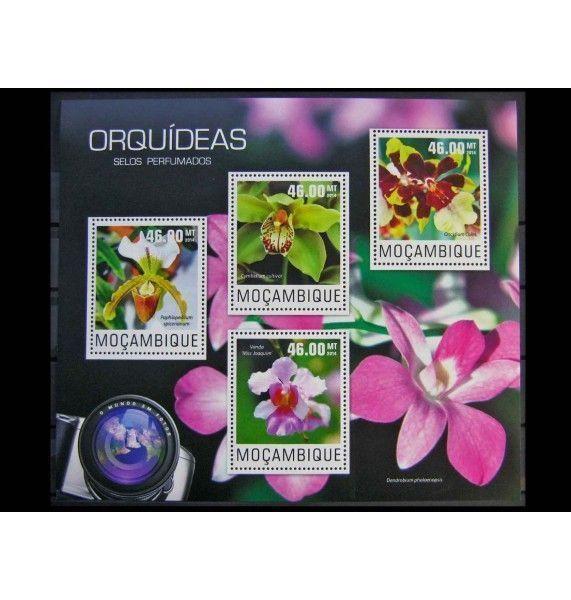"""Мозамбик 2014 г. """"Орхидеи"""""""