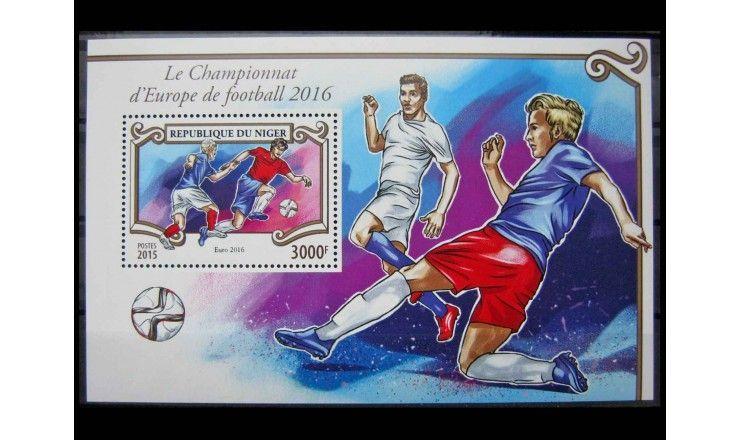 """Нигер 2015 г. """"Чемпионат Европы по футболу 2016"""""""