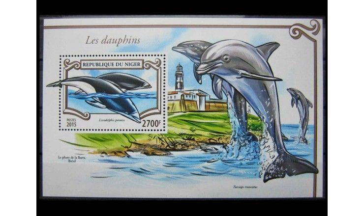 """Нигер 2015 г. """"Дельфины"""""""
