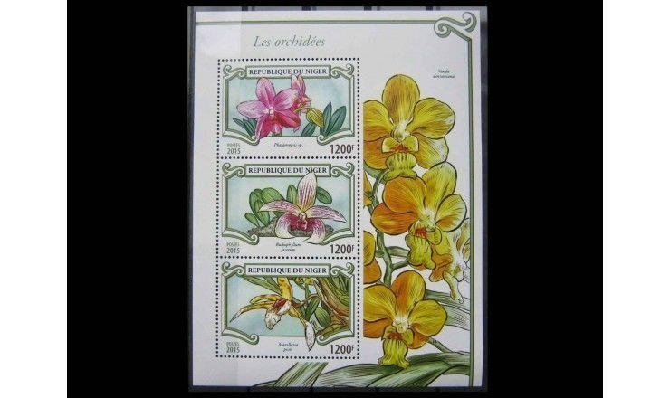 """Нигер 2015 г. """"Орхидеи"""""""