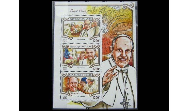 "Нигер 2015 г. ""Папа Франциск"""