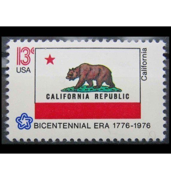 """США 1976 г. """"200 лет независимости США: Флаги 50 штатов"""""""