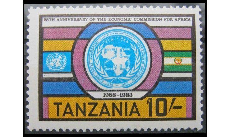 """Танзания 1983 г. """"25 лет Комиссии Африканского союза"""""""