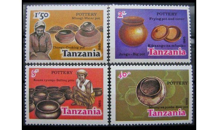 "Танзания 1985 г. ""Керамика"""