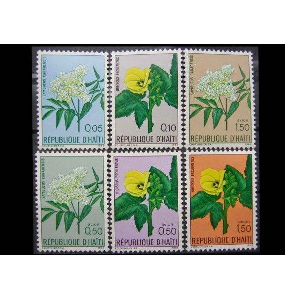 """Гаити 1965 г. """"Природные растения"""""""