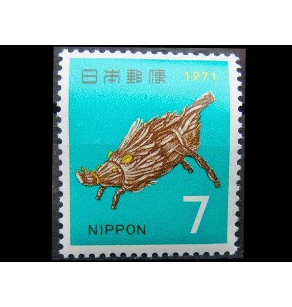 """Япония 1970 г. """"Новый год: Год Свиньи"""""""