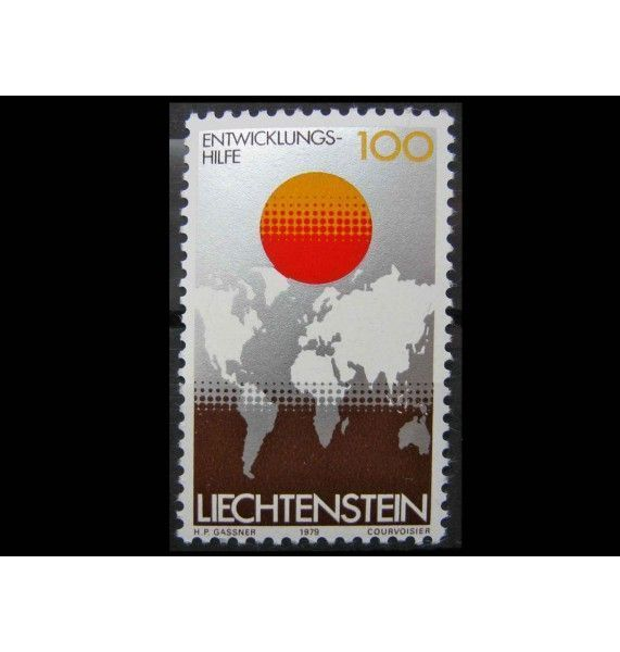 "Лихтенштейн 1979 г. ""Помощь развивающимся странам"""