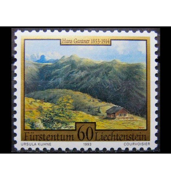 """Лихтенштейн 1993 г. """"Лихтенштейнские художники"""""""