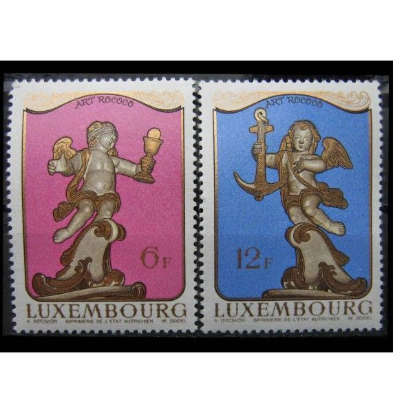 """Люксембург 1979 г. """"Архитектура: Рококо"""""""