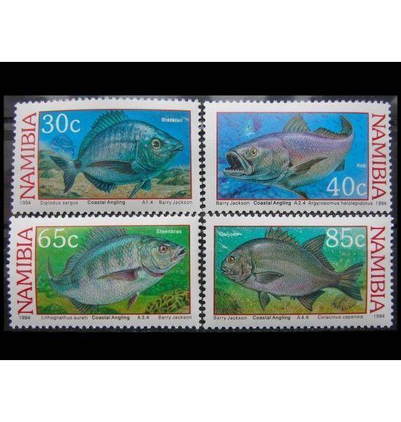 """Намибия 1994 г. Прибрежная рыбалка"""""""