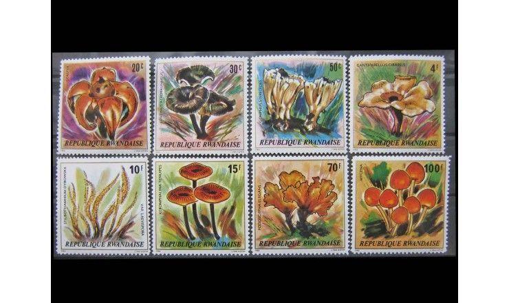 "Руанда 1980 г. ""Грибы"""