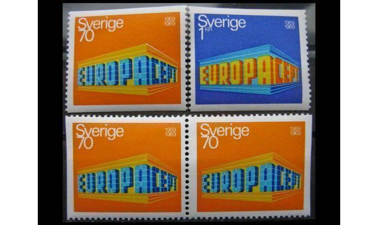 "Швеция 1969 г. ""Европа"""