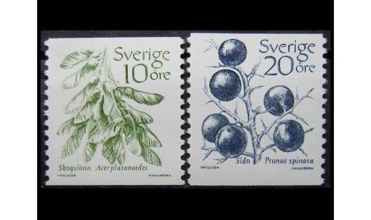 "Швеция 1983 г. ""Плодовые культуры"""