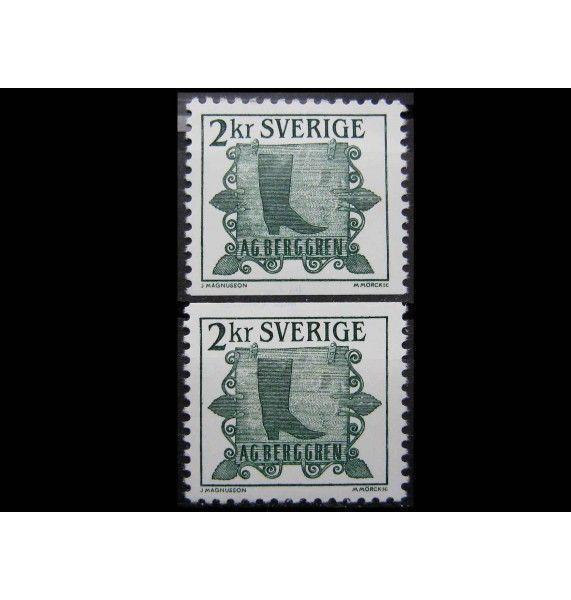 """Швеция 1985 г. """"Стандартные марки: Старые вывески магазина"""""""