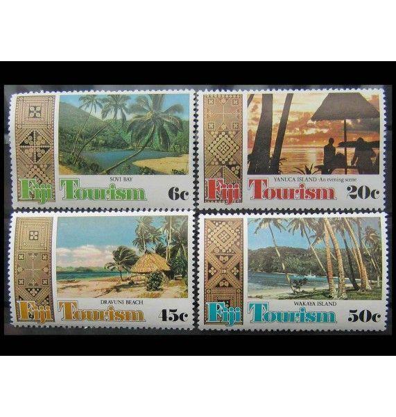 "Фиджи 1980 г. ""Туризм"""