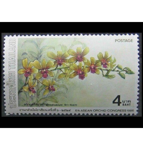 """Таиланд 1986 г. """"Азиатские орхидеи"""""""