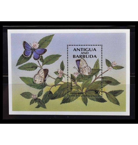 """Антигуа и Барбуда 1994 г. """"Бабочки"""""""