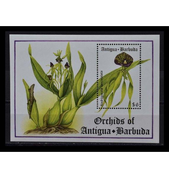 """Антигуа и Барбуда 1994 г. """"Орхидеи"""""""