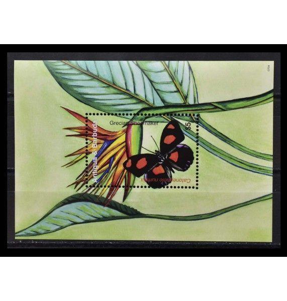 """Антигуа и Барбуда 2007 г. """"Бабочки"""""""