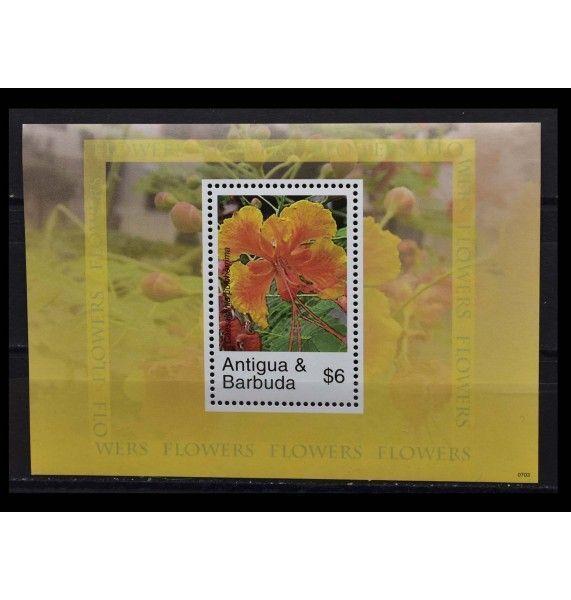 "Антигуа и Барбуда 2007 г. ""Цветы"""