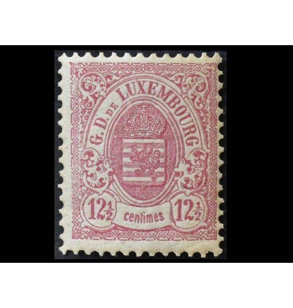 """Люксембург 1880/1884 гг. """"Стандартные марки: Гербы городов"""""""
