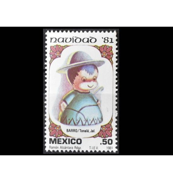 "Мексика 1981 г. ""Рождество"""