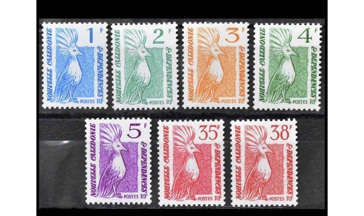 """Новая Каледония 1985 г. """"Стандартные марки: Кагу"""""""