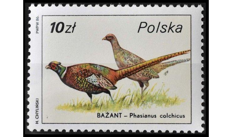 """Польша 1986 г. """"Фауна"""""""