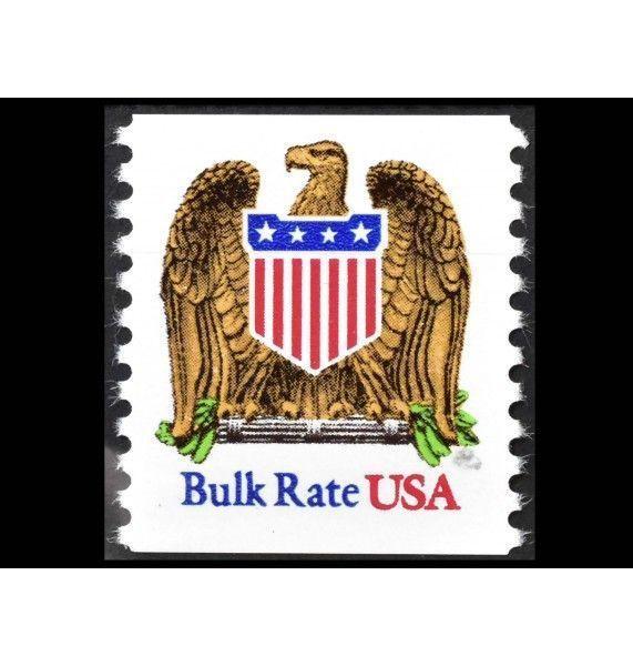 """США 1991 г. """"Стандартные марки для массовых отправлений: Гербовый орел"""""""