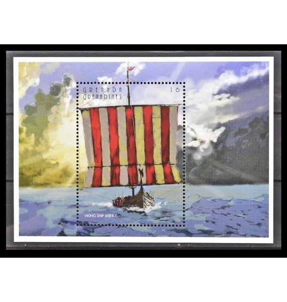 """Гренада и Гренадины 1996 г. """"Корабли"""""""