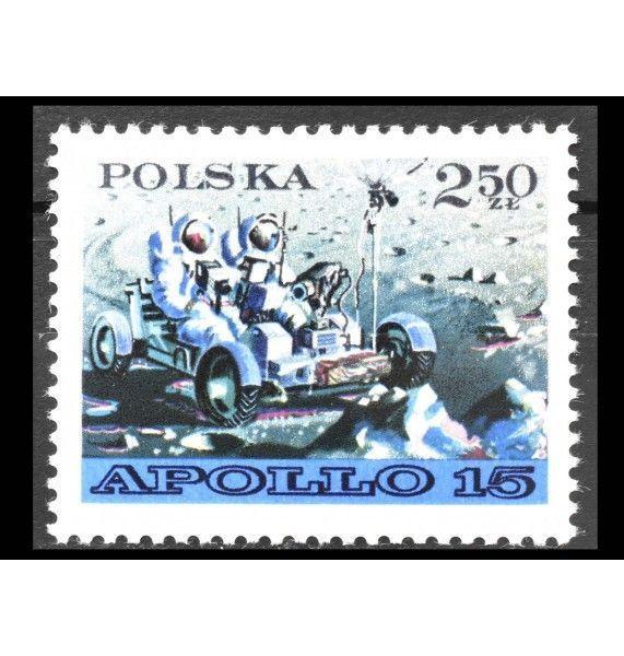 """Польша 1971 г. """"Аполлон-15"""""""