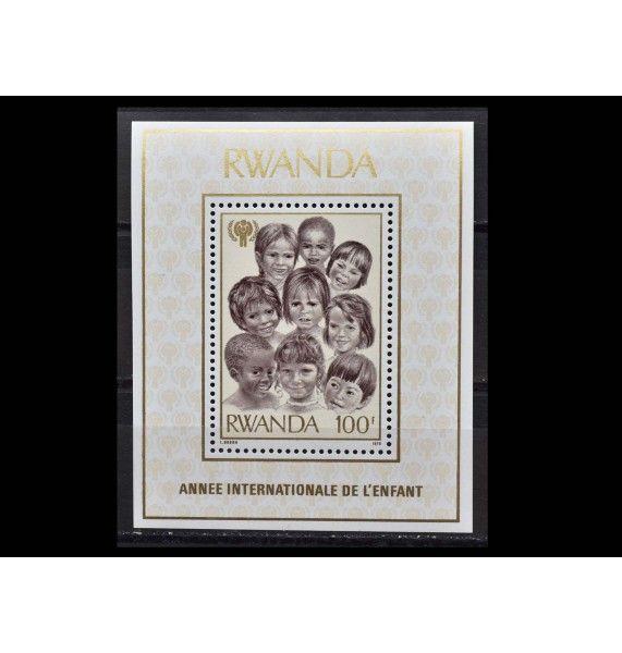 """Руанда 1979 г. """"Международный год ребенка"""""""