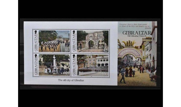 """Гибралтар 2012 г. """"Старинные виды Гибралтара"""""""