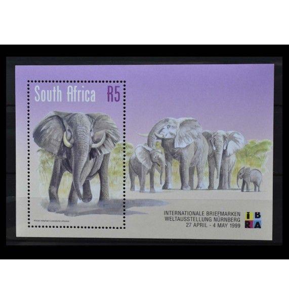 """ЮАР 1999 г. """"Международная выставка марок IBRA'99, Нюрнберг"""""""