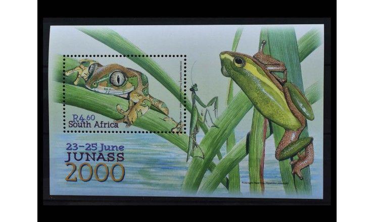 """ЮАР 2000 г. """"Международная выставка марок JUNASS 2000, Боксбург"""""""