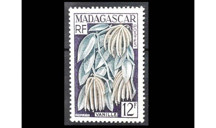 """Мадагаскар 1957 г. """"Стандартные марки: Фауна, флора, достопримечательности"""""""