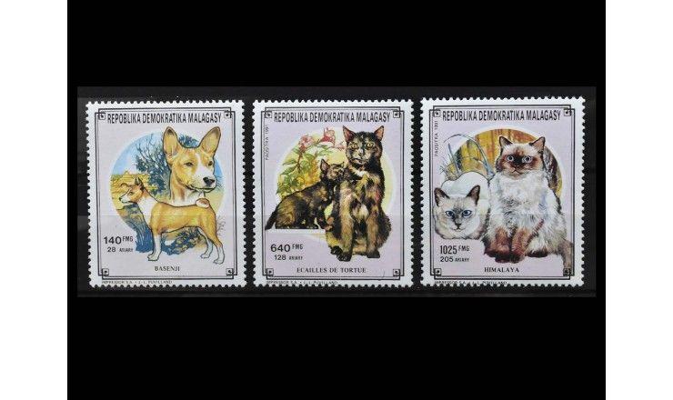 "Мадагаскар 1991 г. ""Домашние животные"""