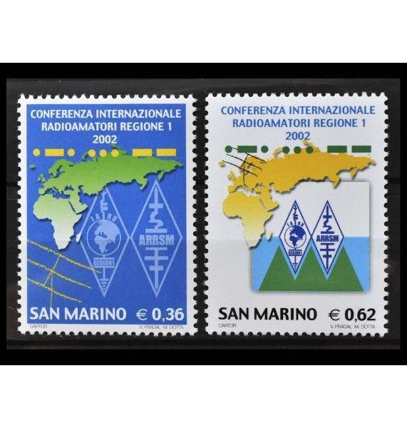 """Сан-Марино 2002 г. """"Международная конференция радиолюбителей"""""""