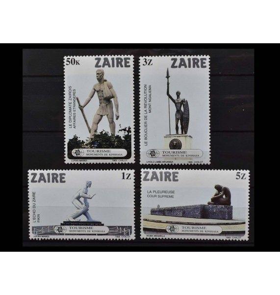 """Заир 1983 г. """"Памятники в Киншасе"""""""