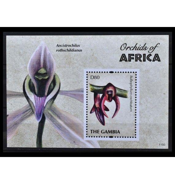 "Гамбия 2011 г. ""Африканские орхидеи"""