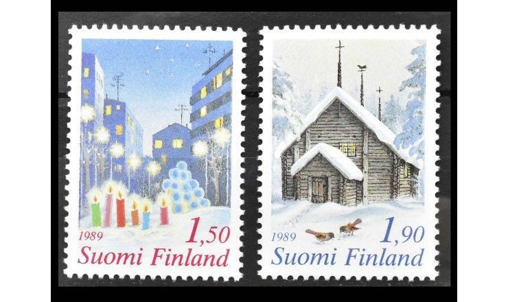 "Финляндия 1989 г. ""Рождество"""