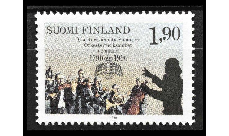 """Финляндия 1990 г. """"200 лет традициям оркестрового исполнительства в Финляндии"""""""