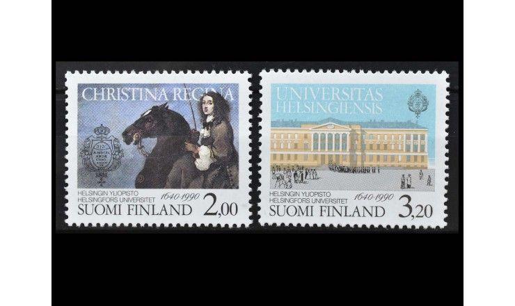 """Финляндия 1990 г. """"350 лет Хельсинкскому университету"""""""