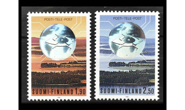 """Финляндия 1990 г. """"Приватизация почты и телекоммуникаций"""""""