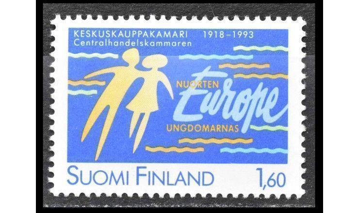 """Финляндия 1993 г. """"75 лет Центральной торговой палате"""""""