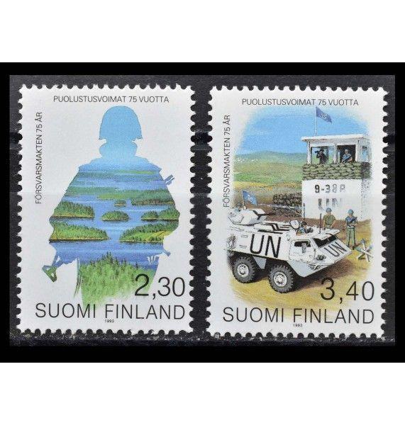 """Финляндия 1993 г. """"75 лет вооруженным силам"""""""