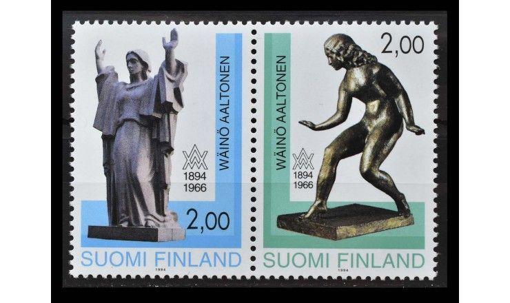 """Финляндия 1994 г. """"100 лет со дня рождения Вяйнё Валдемара Аалтонена"""""""